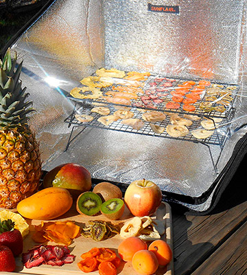 Review of Sunflair Portable Solar Oven Deluxe with Complete Cookware and Thermometer