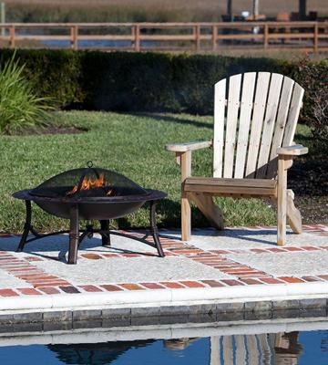 Review of Fire Sense Roman Fire Pit