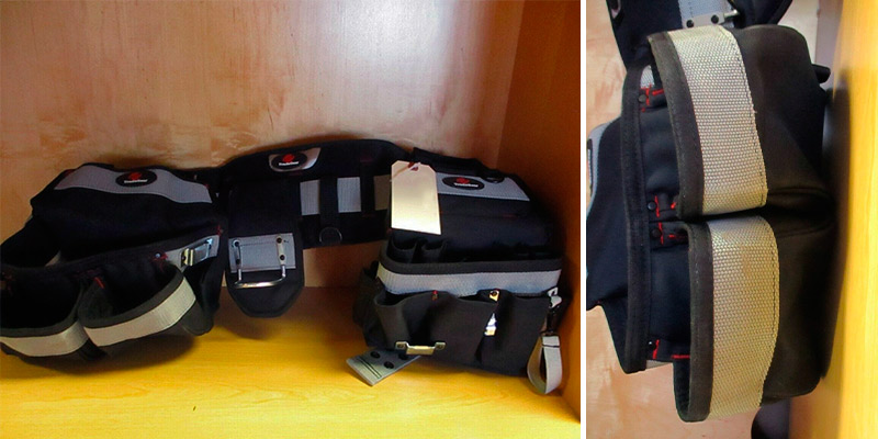 Review of TradeGear PART#SZA Electrician's Belt & Bag Combo