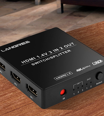 Review of LANGREE LG-HSS-3IN2 Switch&Splitter