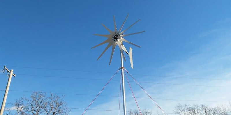 Detailed review of Missouri Raider 1600W 11-Blade Wind Turbine