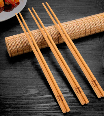 Review of Bamber US-BKCSB24 Bamboo Chopsticks Set