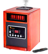 Dr Infrared Heater DR998 Advanced Dual Heating System with Humidifier and Oscillation Fan