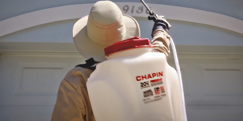 Chapin 63985 Backpack Sprayer application