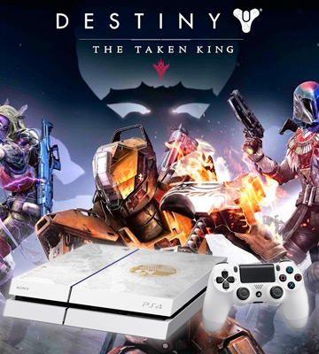 Review of Sony PlayStation 4 Limited Edition Console Destiny: The Taken King Bundle
