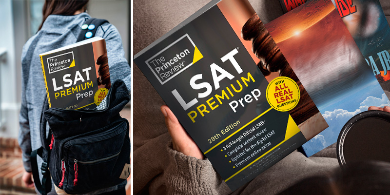 The Princeton Review 28th Edition 3 Real LSAT PrepTests LSAT Premium Prep in the use