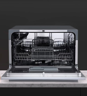 Review of EdgeStar DWP62SV 6 Place Setting Countertop Dishwasher