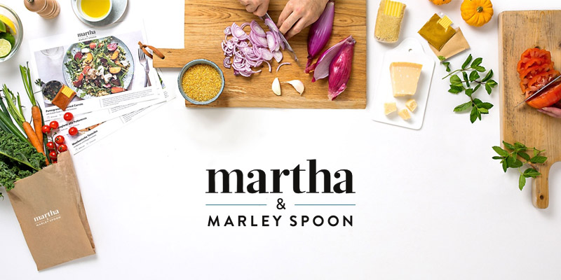 Detailed review of Martha & Marley Spoon Meal Boxes for Couples, Families, & Friends