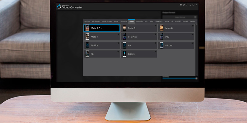 Ashampoo Video Converter in the use