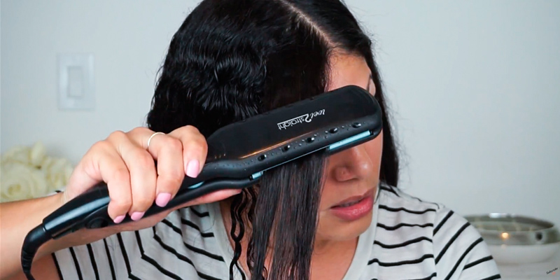 Review of Remington Wet2Straight Flat Iron with Ceramic + Titanium Plates