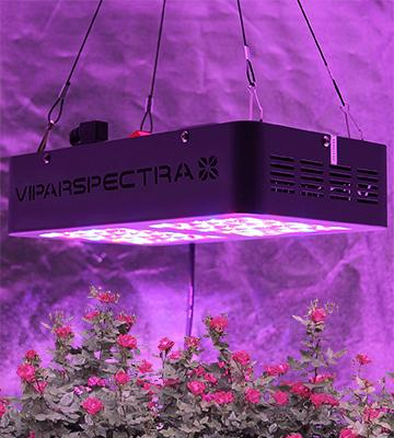 Review of VIPARSPECTRA Reflector V300 Grow Light Full Spectrum for Indoor Plants