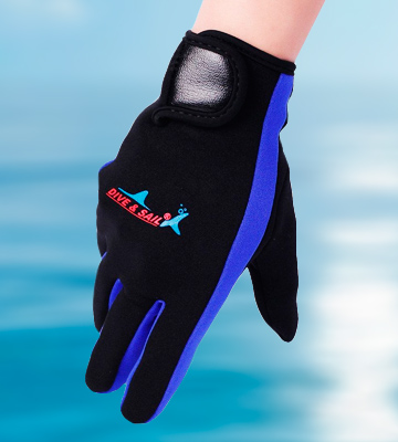 Review of DIVE & SAIL DG-001-YL-S-Parent Neoprene Gloves Scuba Diving