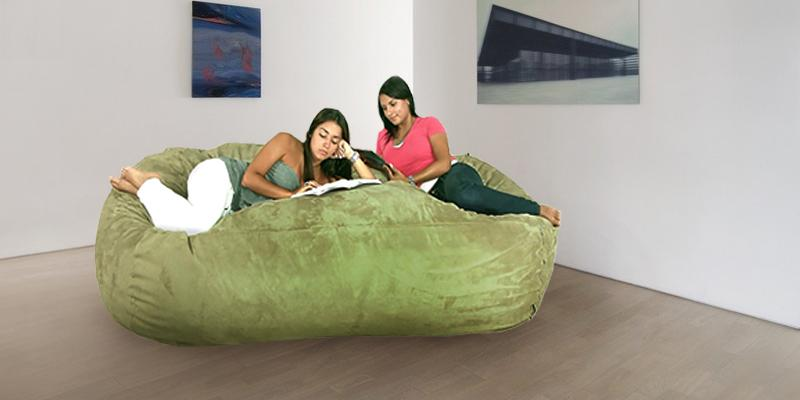 Cozy Sack X-Large 8-Feet Bean Bag Chair in the use