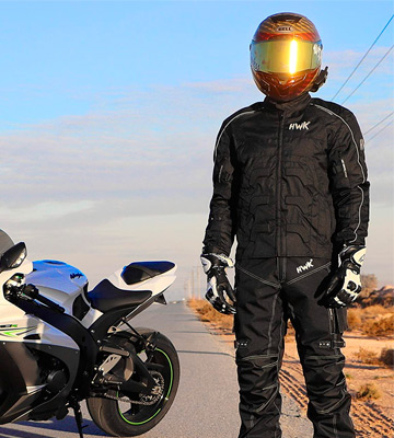 Review of HHR WATERPROOF Textile Motorcycle Jacket