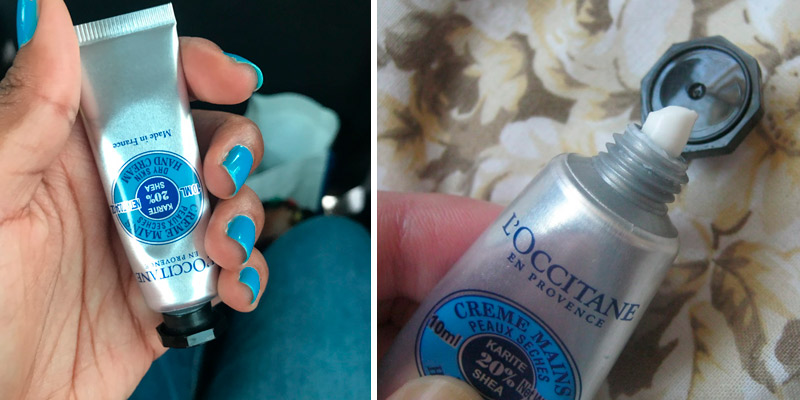 Review of L'Occitane Shea Butter Fast-Absorbing Hand Cream