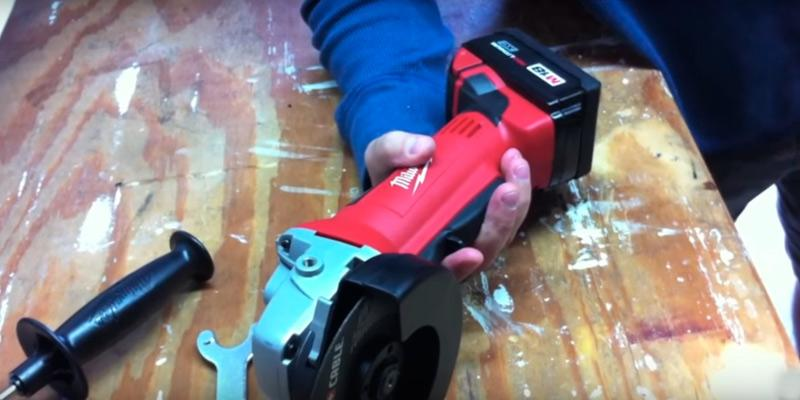 Detailed review of Milwaukee 2680-20 M18 Cut-off/Grinder