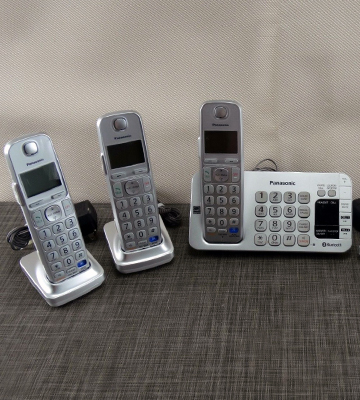 Review of Panasonic KX-TGE274S Link2Cell Bluetooth Cordless Phone