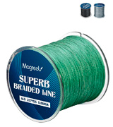 Magreel Braided Fishing Line Abrasion Resistant Braided Lines High Performance Strong 4 or 8 Strand Superline