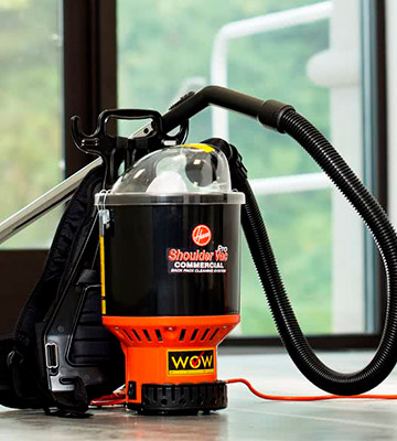 Review of Hoover Commercial C2401 Backpack Vacuum