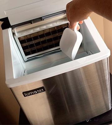 Review of Luma Comfort IM200SS Portable Clear Ice Maker