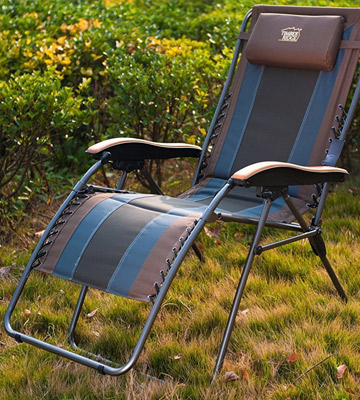 Review of Timber Ridge TRLGR005EA Zero Gravity Patio Lounge Chair