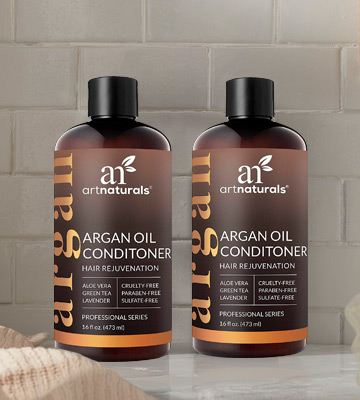 Review of ArtNaturals Argan-Oil Conditioner for Hair-Regrowth - (16 Fl Oz / 473ml) - Sulfate Free