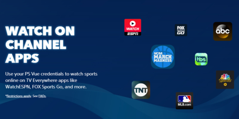 PlayStation Enjoy live TV, sports, movies, news and your favorite must-watch TV in the use