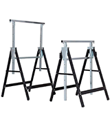 Goplus Folding Sawhorse Pair Heavy Duty 2-Pack Saw Horses