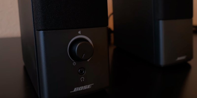 Bose Companion 2 Multimedia Speakers for Laptop in the use