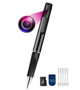 Amyway GB66035 Spy Cameras Pen (1080P, 32GB)