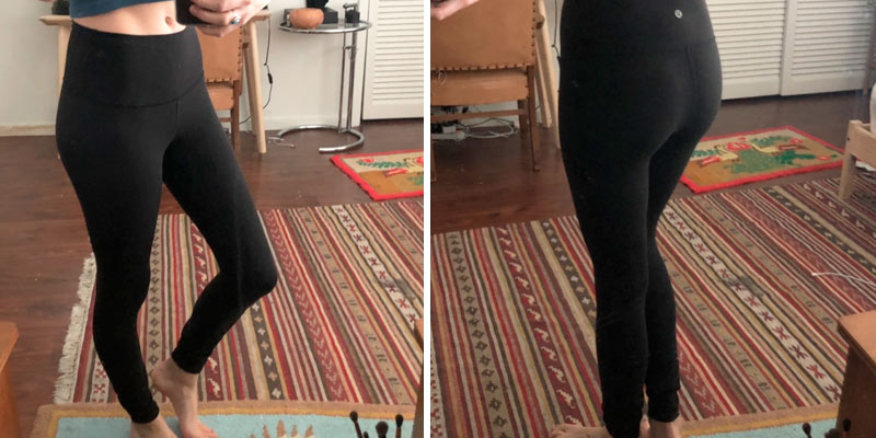 Review of Lululemon Wunder Under Yoga Pants High-Rise