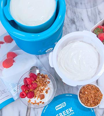 Review of Dash Greek (DGY001BU-SAM) Yogurt Maker