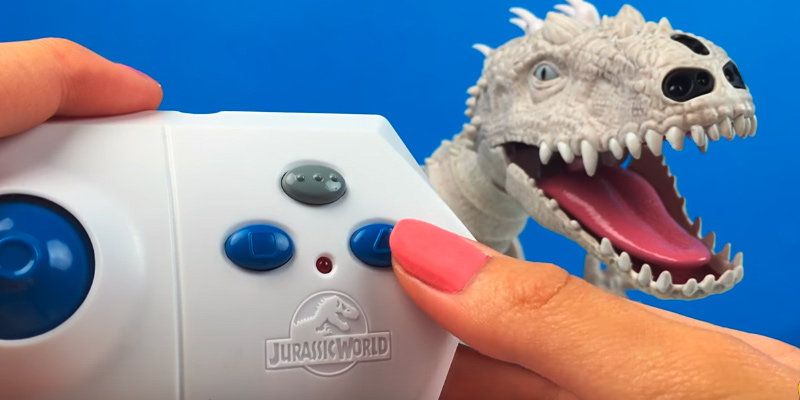 Zoomer Jurassic world Robotic INDOMINUS REX application