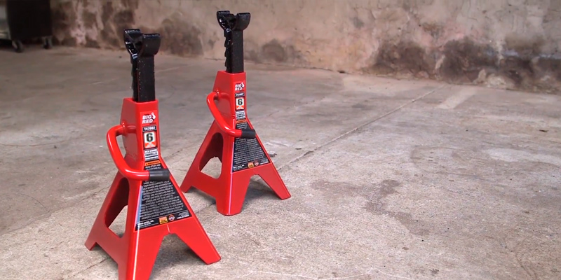 Review of Torin T46002 Big Red Steel Jack Stands: 6 Ton Capacity, 1 Pair