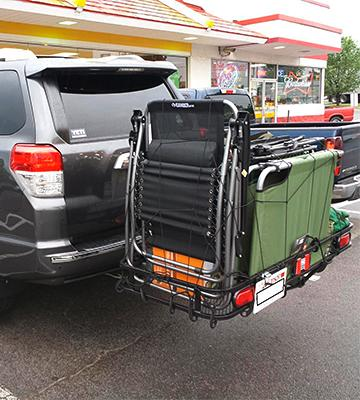 Review of Pro Series Rambler Hitch Cargo Carrier