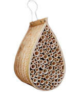 Gardener's Supply Company Mason Bee House Wiker, Bamboo