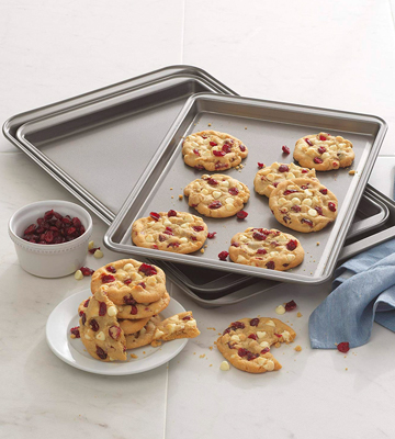 Review of Good Cook Set Of 3 Non-Stick Cookie Sheet