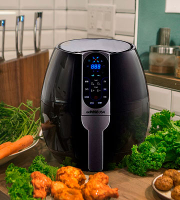 Review of GoWISE USA GW22638 Programmable Air Fryer
