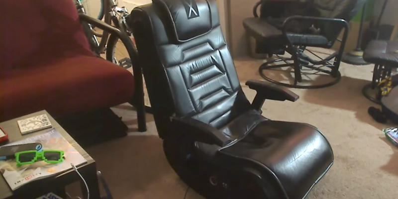 Detailed review of X Rocker 51259 Pro H3 4.1 Audio Gaming Chair