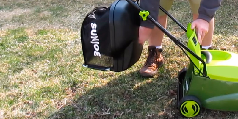 Detailed review of Sun Joe MJ401E-PRO 14-Inch 13 Amp Corded Lawn Mower