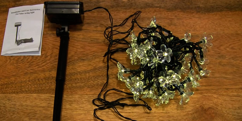 Detailed review of Qedertek Solar Flower Garden Lights for Outdoor