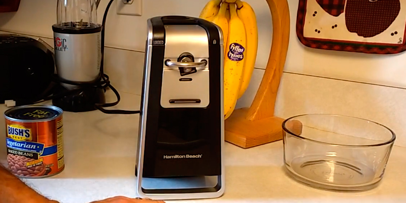 Review of Hamilton Beach 76607 Smooth Touch Can Opener