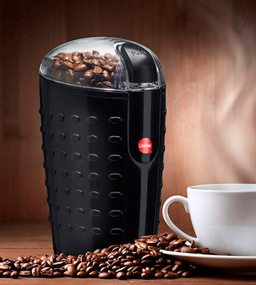 Review of Quiseen Q-CG001 One-Touch Electric Coffee Grinder for Coffee Beans, Spices, Nuts and Grains