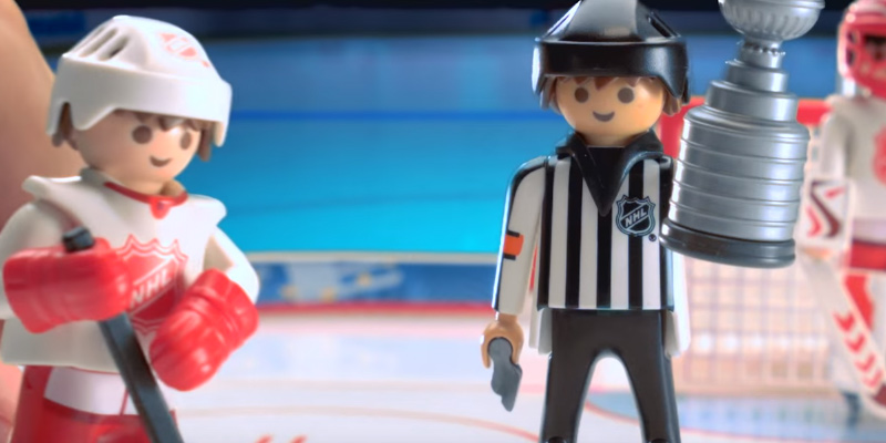 PLAYMOBIL NHL Hockey Arena Playset application