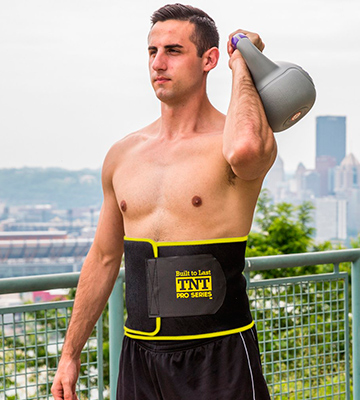 Review of TNT Pro Series TNT-BELT-1 Waist Trimmer Weight Loss Ab Belt