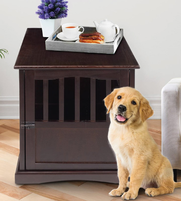 Review of Casual Home Wooden Pet Crate