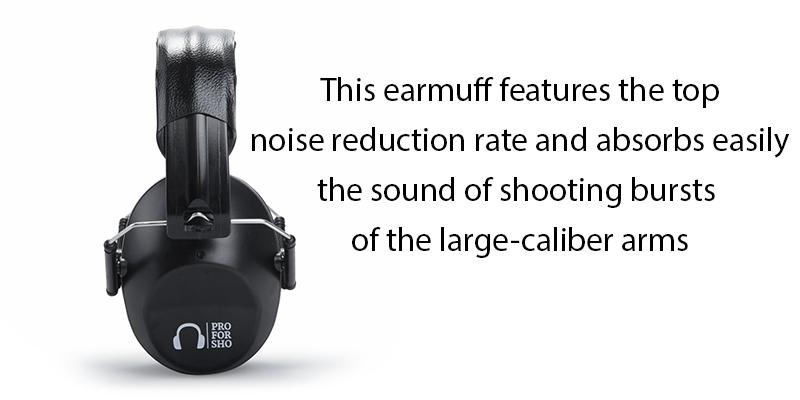 Review of Pro For Sho 34dB Noise Cancelling Shooting Ear Muffs