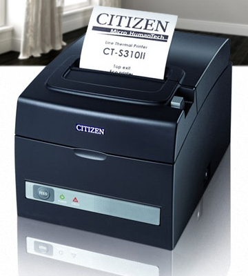 Review of Citizen CT-S310II-U-BK Two-Color POS Thermal Printer