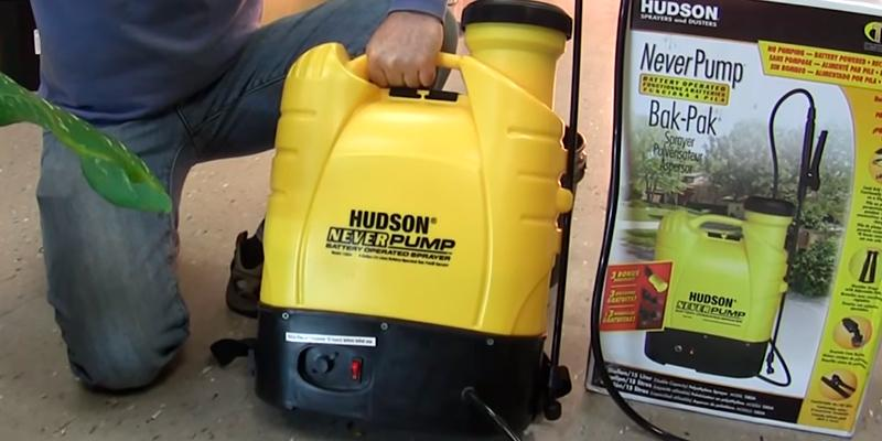Hudson 13854 Battery Operated in the use