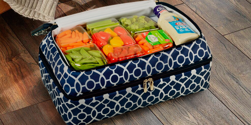 Review of Picnic at Ascot Original Insulated Double Layer Thermal Food and Casserole Carrier